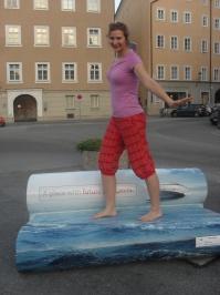 Surfovanie ZA MENEJ v meste :D (Salzburgu)