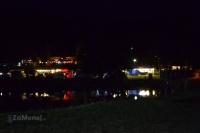 Nočné stanové mestečko