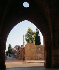 Za Menej - Rhodos - Cesta k mešite