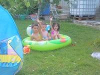 Na záhradke za menej.....Slovenská dovolenka :)