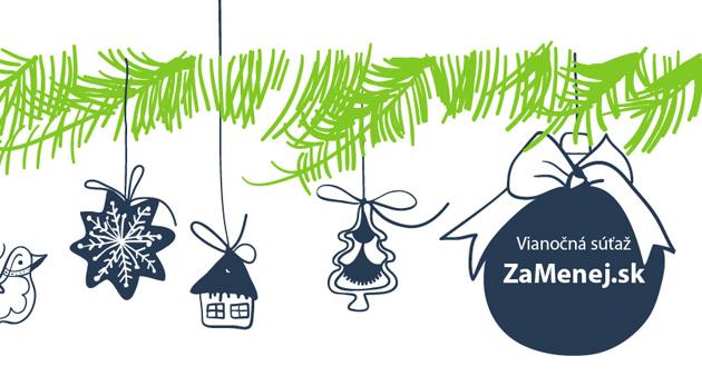 Vianočná súťaž ZaMenej.sk o ceny za viac ako 5000 €