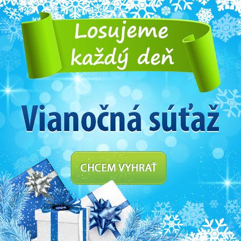 Vianočná súťaž ZaMenej.sk o vynikajúce ceny