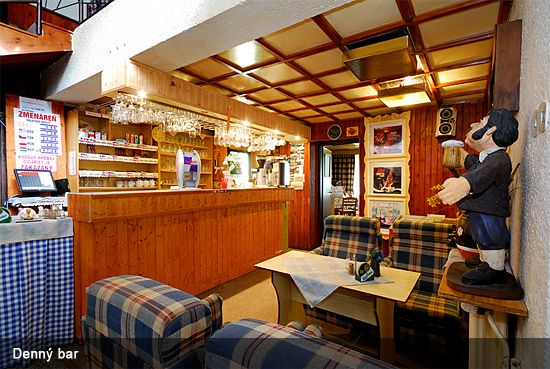 Chata Záhradky bar