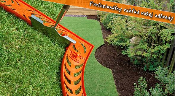 Fotka zľavy: Profesionálny vzhľad záhrady so systémom Perfect Edge len za 58,80€ aj s poštovným. Jedinečné a kreatívne riešenie pre profesionálne upravené trávniky aj kvetinové záhony s 51% zľavou.
