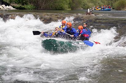 Rafting Belá