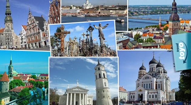 Fotka zľavy: 6-dňový poznávací zájazd pobaltskými krajinami za 229€. V cene doprava luxusným autobusom, ubytovanie s raňajkami a prehliadka miest Vilnius, Tallinn, Helsinky a Riga so sprievodcom.