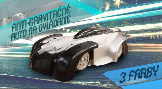 Fotka zľavy: Prvé autíčko, ktoré jazdí po stene vašej izby! RC antigravitačné auto len za 16,90€. Skvelý darček, s ktorým sa zahrajú deti aj dospelí. Možnosť osobného odberu v centre Bratislavy.
