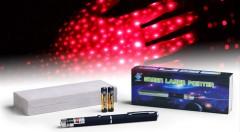 Zľava 62%: Laserové ukazovadlo s červeným laserom v tvare pera - Laser Pointer teraz len za 4,90€. Ideálny pomocník na prezentácie, pre označovanie dôležitých bodov a informácií.