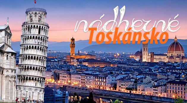 Fotka zľavy: Objavte čaro najkrajšej oblasti Talianska - Toskánsko! 4-dňový zájazd s prehliadkou miest Pisa, Volterra, Siena, SanGimignano a Florencia len za 129€. Zľava 40%.