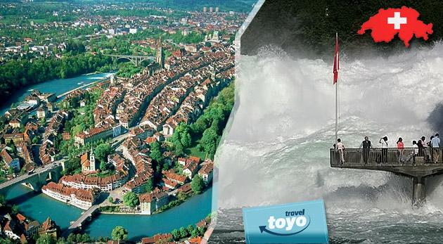 Fotka zľavy: Rozprávkové Švajčiarsko: 4-dňový poznávací zájazd len za 123€. Fascinujúca Ženeva, historický Bern a burácajúce vodopády Rheinfall.