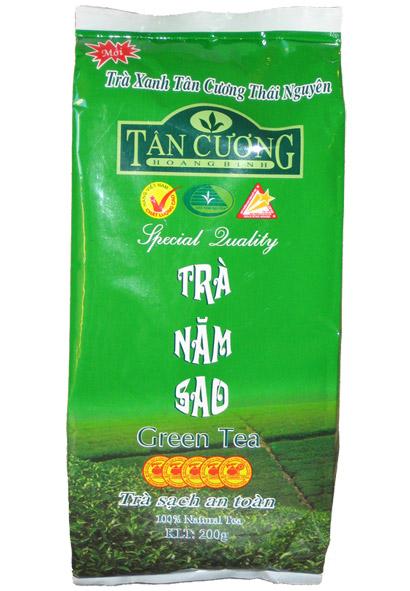 Balenie zelený čaj