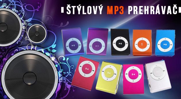Fotka zľavy: Trendový mini MP3 prehrávač za skvelú cenu len 4,99€ pre všetkých, ktorí žijú hudbou! Kompaktný a ľahký prehrávač s jednoduchým použitím a klipsňou na upevnenie. Na výber z 9 metalických farieb.