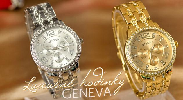 Fotka zľavy: Dámske náramkové hodinky so zirkónmi a kryštálmi so Swarovski Elements v darčekovom balení len za 14,90€ vrátane poštovného! Doprajte pocit luxusu sebe alebo svojim blízkym!