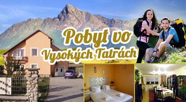 Fotka zľavy: 3 alebo 4-dňový pobyt pre dvoch v Penzióne Gabriel už od 58€. Super cena za super pobyt so skvelým jedlom, saunou a masážou. Očarujúce Tatry iba pre vás ako na dlani!