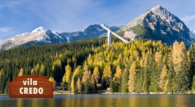 Fotka zľavy: Relax uprostred Vysokých Tatier len za 28€. Hrejivá útulnosť Vily Credo na 3 dni v Dolnom Smokovci. Užite si čarovnú jar či nezabudnuteľnú jeseň v lone hôr.