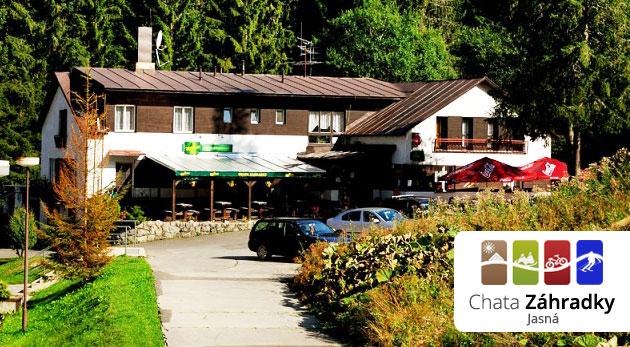 Fotka zľavy: Len 32€ stačí na trojdňový pobyt s polpenziou v Demänovskej doline. Chata Záhradky - užite si krásy Nízkych Tatier.