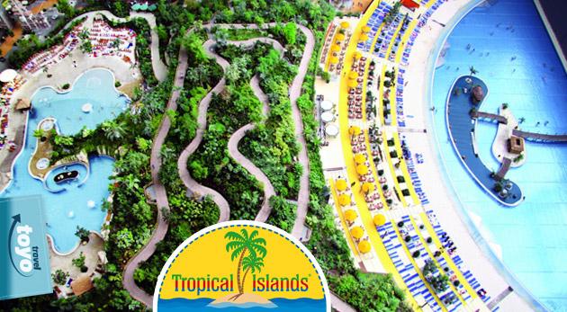 Fotka zľavy: Dožičte si skvelý oddych plný histórie i ničnerobenia na tropických ostrovoch s piesočnou plážou. Zájazd na 4 dni do Berlína s navštevou Tropical Islands len za 89€.