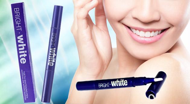 Fotka zľavy: Neplaťte veľké peniaze za krásny chrup. Skúste bieliace pero na zuby len za 4,90€ a potešte svoje okolie žiarivým úsmevom! Pri kúpe 3 kupónov získate 1 kus zadarmo!