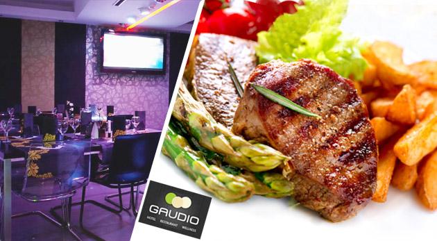 Fotka zľavy: Pestrá obložená misa pre dve alebo štyri osoby už od 9,90€! Pozvite svojich priateľov na skutočný kulinársky zážitok v reštaurácii GAUDIO & RESTAURANT v Hoteli Gaudio v Petržalke.