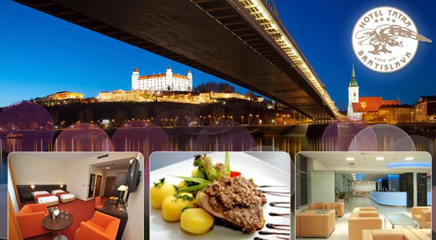 Fotka zľavy: Pobyt v Hoteli Tatra**** hneď vedľa Prezidentského paláca v Bratislave už od 59€. Hotel v centre mesta s nadštandardným ubytovaním, výbornou vybavenosťou a profesionálnym personálom.