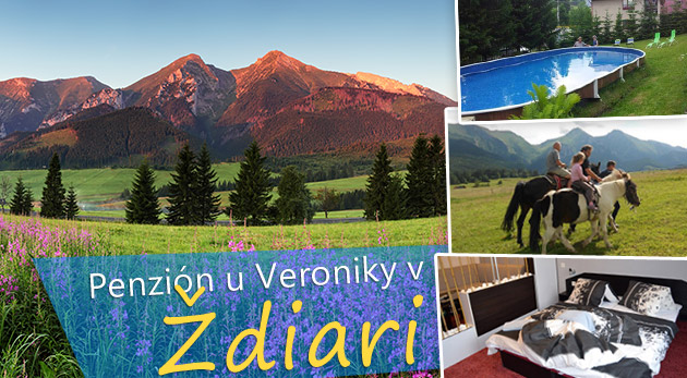 Fotka zľavy: Jesenná turistika v Ždiari len za 58€ pre 2 osoby s polpenziou a balíčkom zliav na služby v rodinnom Penzióne u Veroniky. Platnosť až do 30.11.2014!