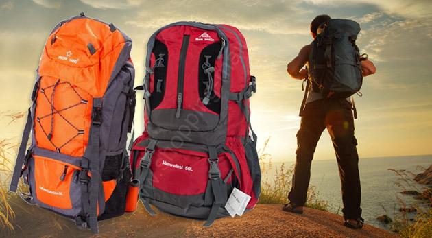 Fotka zľavy: Špičkové batohy pre náročné expedície, trekking alebo cestovanie už od 21,90€. Odteraz aj ten najvyšší vrchol bude pre vás brnkačka!