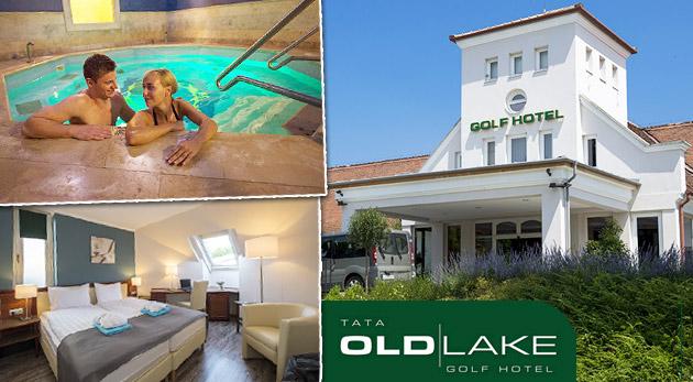 Fotka zľavy: Oddychom nabité 3 dni v Old Lake Golf Club & Hotel**** v meste Tata s výbornou polpenziou, neobmedzeným wellness, vstupom na golf a do dobrodružného parku len za 136€ pre dvoch.