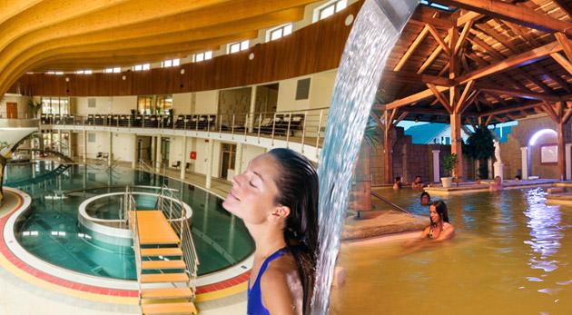 Fotka zľavy: Oddychový 4-dňový pobyt pre 2 alebo 4 osoby v Drevenici - Zrube v Podhájskej už od 65€. Ubytovanie v zrube pri termálnom kúpalisku s jedinečnou slanou vodou! Dieťa do 3 rokov zadarmo!