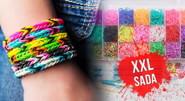 Fotka zľavy: Sada Loom Bands už od 17,90€ vrátane poštovného a balného. Farebné gumičky v 21 farbách, návod, veľa príslušenstva a to všetko zabalené v priehľadnom plastovom boxe!