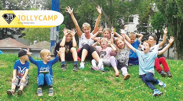 Fotka zľavy: Denný vstup do detského tábora Jolly Camp v Bratislave počas jesenných prázdnin vrátane stravy len za 13€. Vaše deťúrence čaká skvelá zábava, šport a bohatý program!