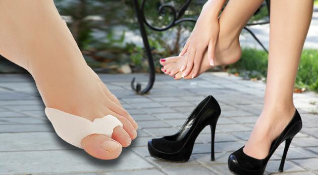 Fotka zľavy: Vďaka silikónovej ortopedickej pomôcke na zmiernenie vybočujúceho palca len za 4,99€ pomôžete sebe a aj svojim nohám. V balení 2 ks pre pravú a ľavú nohu. Pri kúpe 3 kupónov získate 1 ks zadarmo!