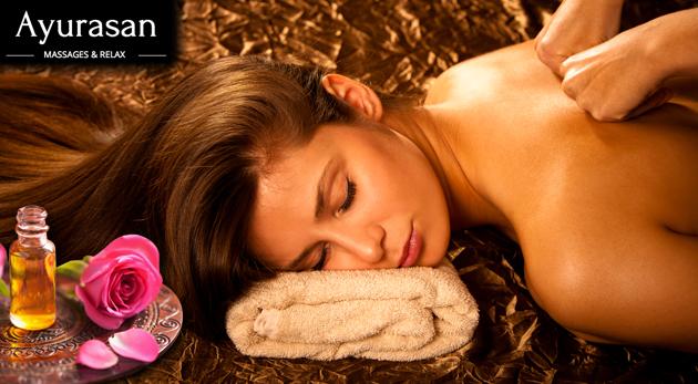 Fotka zľavy: Exkluzívna celotelová relaxačná masáž v balíčku Rose s prepychovými olejmi s vôňou ruže len za 24,90€. Úžasný relax bude trvať dlhých 90 minút - oddajte sa mu aj vy!