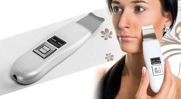 Fotka zľavy: Prístroj na hĺbkové čistenie pokožky len za 34,90€. Ultrazvukové vyhladenie vrások, prevencia pred akné a zdravá, pevná pokožka. Šetrite čas i peniaze - profesionálna starostlivosť priamo u vás doma.