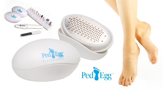 Fotka zľavy: Dvojbalenie skvelého PED EGG so 4-mi poduškami na záverečnú starostlivosť len za 3,20€. Vykúzlite z vašich chodidiel nohy princeznej!