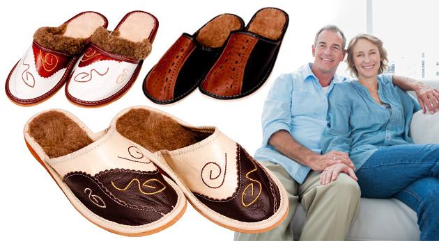 Fotka zľavy: Pohodlné papuče z pravej ovčej vlny už od 7,60€ vrátane poštovného a balného. Vyberte si zo širokej ponuky dámskych či pánskych modelov v rôznych veľkostiach!