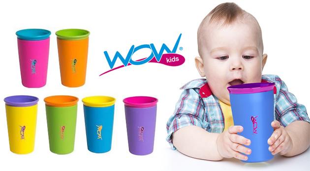 Fotka zľavy: Revolučný pohárik WOW s ventilom proti rozliatiu len za 4,99€. Nemusíte sa báť, že dieťa pohárik prevrhne – tentokrát nevytečie ani kvapka!