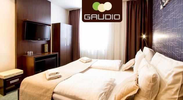Fotka zľavy: Pobyt v hlavnom meste pre dvojicu v Hoteli Gaudio*** už od 44,90€ s raňajkami. Relax v moderne zariadenom hoteli so súkromným wellness.