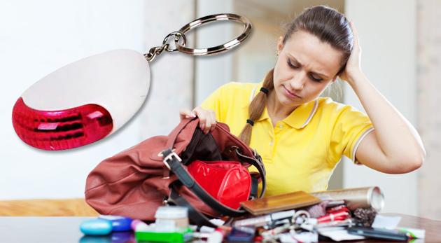 Fotka zľavy: Zistite ihneď, kde sa vaše kľúče nachádzajú! Pomôže vám hľadač kľúčov len za 2,99€ vrátane poštovného a balného.