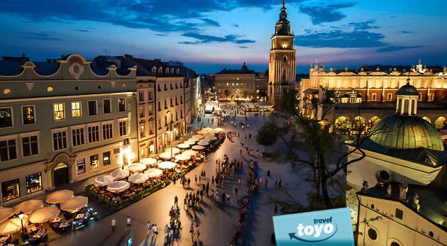 Fotka zľavy: Vychutnajte si zasnežený Krakov v predvianočnom čase. Jednodňový zájazd len za 27 € vrátane dopravy a sprievodcu.