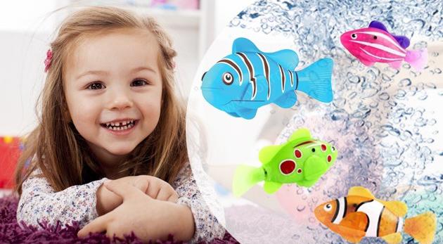 Fotka zľavy: Robotická ryba za 6,99€, ktorá vďaka špeciálnym senzorom pláva vo vode. Milý spoločník pre vaše deti, ktorý im nikdy neumrie!