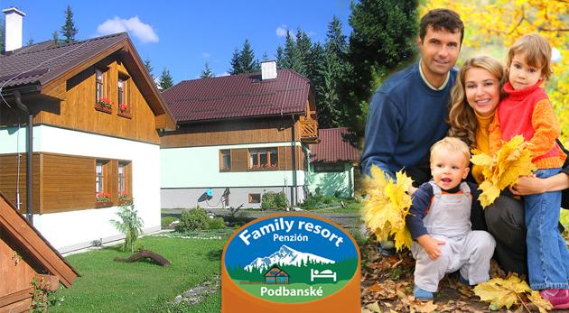 Fotka zľavy: Príjemné ubytovanie rodinného typu v Penzióne Family Resort v Podbanskom len za 96 €. V tesnej blízkosti Západných a Vysokých Tatier v kráľovskom pokoji smrekových lesov a čistého vzduchu.