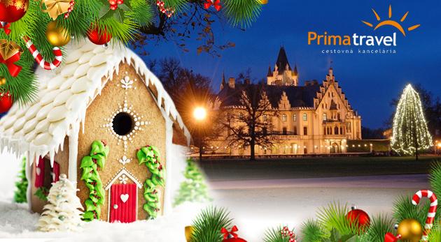 Fotka zľavy: Navštívte najkrajšiu výstavu perníkových chalúpok v Európe a zažite neopakovateľnú atmosféru na romantickom zámku Grafenegg. Zájazd vrátane služieb sprievodcu, dopravy a poistenia len za 25,90€.