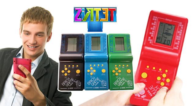 Fotka zľavy: Zaspomínajte si a zažite opäť skvelé chvíle plné kreativity s hrou Tetris už od 2,99€. Podľahnite znovu tejto skvelej zábave!