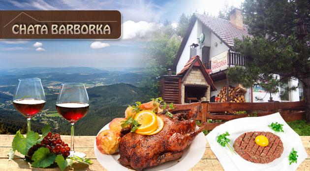 Fotka zľavy: Pobyt na severe Moravy v Chate Barborka už od 52 € pre dvojicu s platnosťou až do 20.12.2014! Horské prostredie, polpenzia, pečená hus alebo tatarák a možnosť ubytovania sa so psíkom.