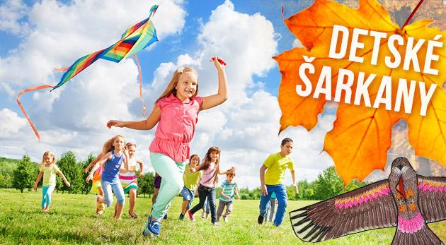 Fotka zľavy: Pestrofarebný detský šarkan len za 4,99€. Využite jesenný vetrík pre veselé chvíle s vašimi deťmi pod farebnými korunami stromov!