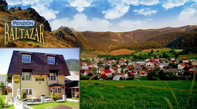 Fotka zľavy: Relax a aktívny oddych v Penzióne BALTAZÁR na Liptove len za 54 € pre dvojicu. Raňajky, zľavy na masáže, saunu a veľký výber turistických trás v Nízkych Tatrách a Veľkej Fatre.
