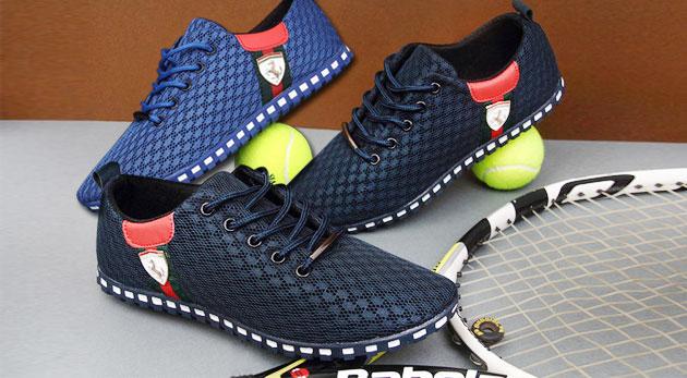 Fotka zľavy: Štýlová pánska jesenná obuv za 19,90 € vrátane poštovného a balného. Dva modely pohodlnej a priedušnej obuvi vo viacerých farbách a veľkostiach.