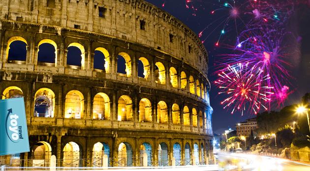 Fotka zľavy: Poznávanie Ríma so sprievodcom, silvestrovské oslavy a ubytovanie v hoteli s raňajkami len za 168 €. Oslávte príchod Nového roka v jednom z najromantickejších miest sveta vďaka Toyo travel.