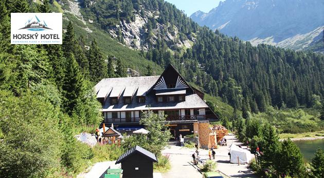 Fotka zľavy: Užite si pobyt v lone Tatier v Horskom hoteli Popradské Pleso už od 36€ s plnou penziou, saunou a transferom do a z hotela. Dieťa do 3 rokov zadarmo!