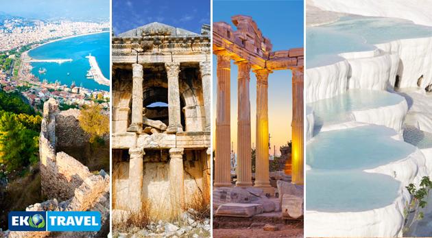Fotka zľavy: Letecký poznávací zájazd na 8 dní do Turecka pre jednu osobu len za 329 € vrátane dopravy, ubytovania, raňajok, vstupov do pamiatok a sprievodcu.